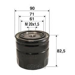 Фильтр масляный (Valeo) 586016