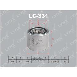 Фильтр масляный (LYNX auto) LC331