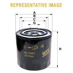 Масляный фильтр (WIX FILTERS) WL7171