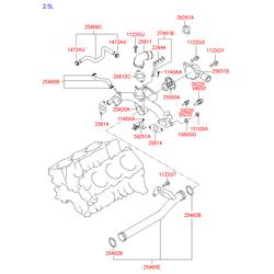 Датчик температуры (Hyundai-KIA) 3922035710