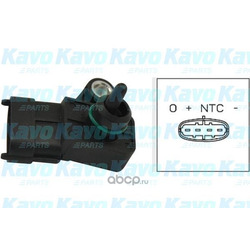 Датчик давление во впускной трубе (kavo parts) EMS3007