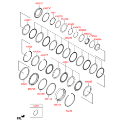 Синхронизатор акпп (Hyundai-KIA) 4568923400