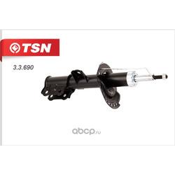Амортизатор передний левый (Tsn) 33690