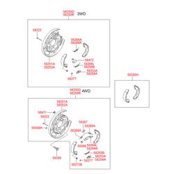 Пыльник рулевого механизма (Hyundai-KIA) 581644D500