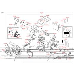 Радиатор отопителя салона (Hyundai-KIA) 971381R000
