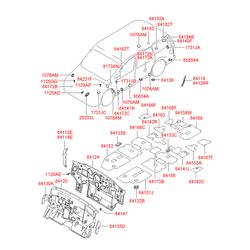 Заглушка панели багажного отсека (Hyundai-KIA) 8413225000