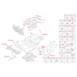 Заглушка кузова (Hyundai-KIA) 8418529010