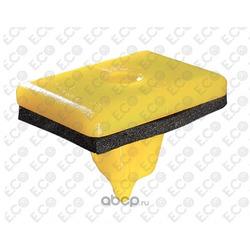 Пистон пластмассовая гайка, цвет жёлтый,молдинг боковой (E.Co) 71422Z