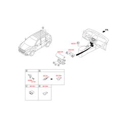 Переключатель (Hyundai-KIA) 935603L000
