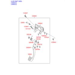 Концевой выключатель стоп сигнала (Hyundai-KIA) 938101C800