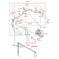 Катушка индуктивности компрессора кондиционера (Hyundai-KIA) 976414L000