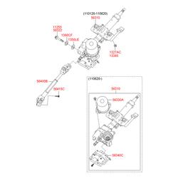 Болт m8 (Hyundai-KIA) 1126910801