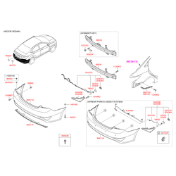 Датчик парковки ультразвуковой (Hyundai-KIA) 957204L010R9A