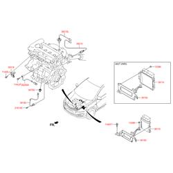 Блок управления вспомогательными системами (Hyundai-KIA) 391242B715