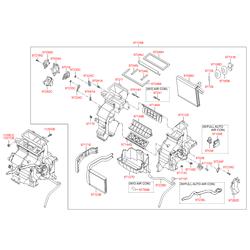 Вентилятор (Hyundai-KIA) 972074L100