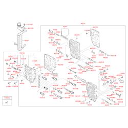 Винтовая пружина акпп, работающая на сжатие (Hyundai-KIA) 463963B050
