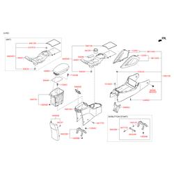 Внутренняя антенна противоугонной системы (Hyundai-KIA) 954203K200