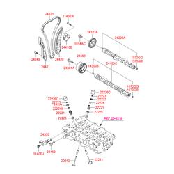Деталь (Hyundai-KIA) 242002B030