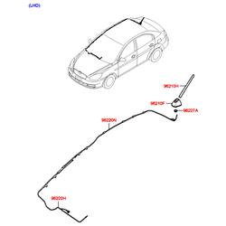 Гайка м12 (Hyundai-KIA) 962662F010