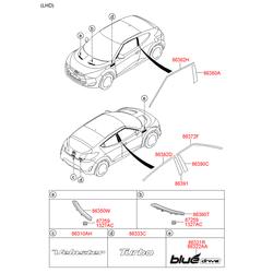 Гайка м8 (Hyundai-KIA) 8722125510