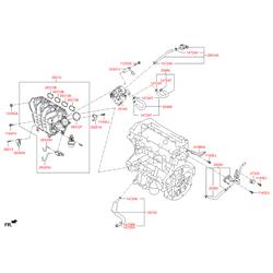 Датчик давления воздуха (Hyundai-KIA) 3930003000