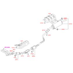 Деталь (Hyundai-KIA) 287104L050