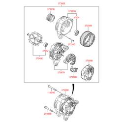 Деталь (Hyundai-KIA) 373702A300