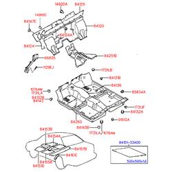 Деталь (Hyundai-KIA) 1731425000