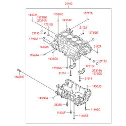 Деталь (Hyundai-KIA) 211002B040