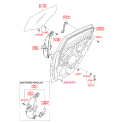 Деталь (Hyundai-KIA) 834011R010