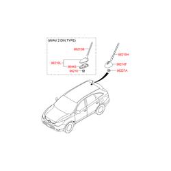 Деталь (Hyundai-KIA) 962502B010