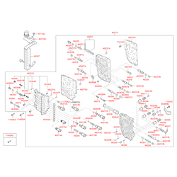 Клапан контроля режимов работы акпп (Hyundai-KIA) 463123B000