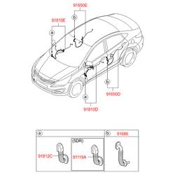 Клемма (Hyundai-KIA) 916604L031