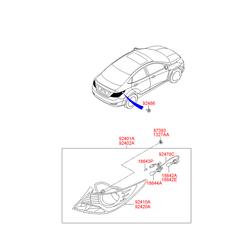 Деталь (Hyundai-KIA) 1864221006