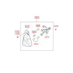 Деталь (Hyundai-KIA) 1864318004