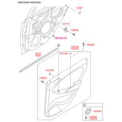 Переключатель стеклоподъемника стекла двери (Hyundai-KIA) 935811R000