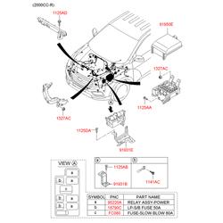Реле 1.5а (Hyundai-KIA) 391603C200