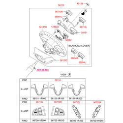 Рулевое колесо (Hyundai-KIA) 561104L450RY