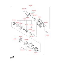 Рычаг привода стартера (Hyundai-KIA) 3613026810