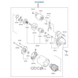 Стартер (Hyundai-KIA) 361002B600