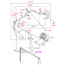 Трубка системы охлаждения салона (Hyundai-KIA) 977614L000
