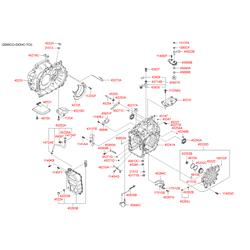 Фильтр акпп (Hyundai-KIA) 463213B600