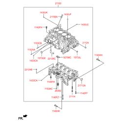 Шпилька м6 (Hyundai-KIA) 1153308256K