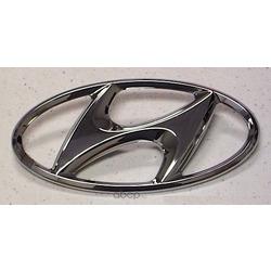 "Эмблема декоративная пластиковая ""h"" (Hyundai-KIA) 863003A000"