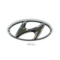 Эмблема решетки радиатора h (Hyundai-KIA) 863631R000