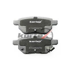 Колодки тормозные задние (KORTEX) KT3454STD