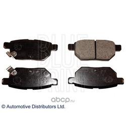 Колодки тормозные дисковые задние, комплект (Blue Print) ADT342167