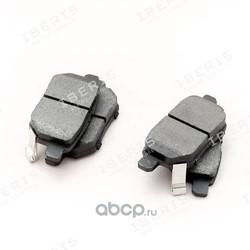 Колодки тормозные дисковые задние (комплект) (IBERIS) IB153103