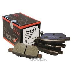 Колодки тормозные задние (KORTEX) KT3454T
