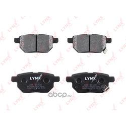 Колодки тормозные задние (LYNX auto) BD7543